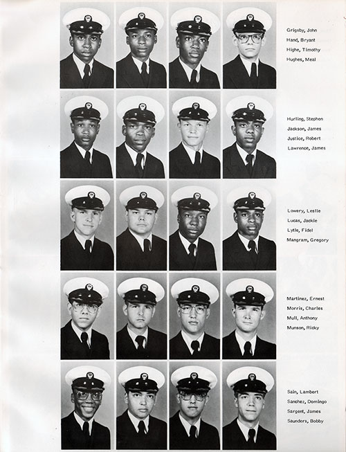Recruits, Page 2, Navy Boot Camp Yearbook 1979 Training Unit 145