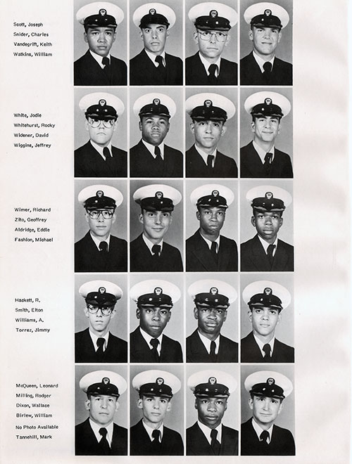 Recruits, Page 3, Navy Boot Camp Yearbook 1979 Training Unit 145