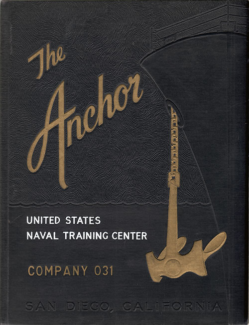 Front Cover, Navy Boot Camp Yearbook 1955 Company 031