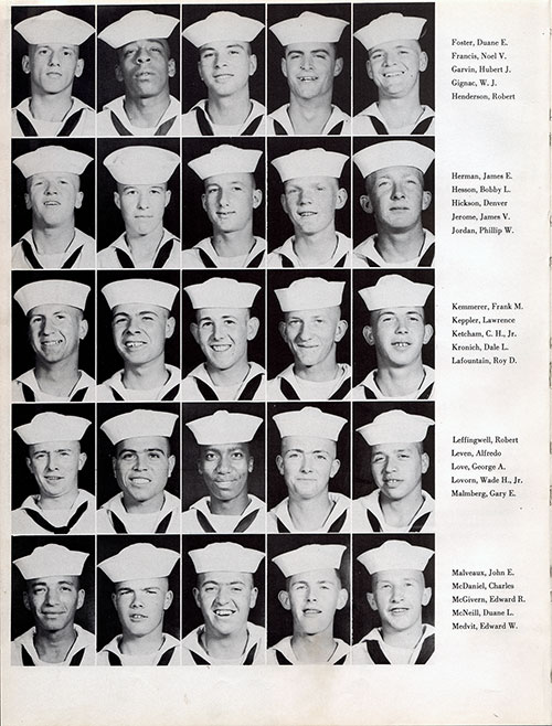 Recruits, Page 2, Navy Boot Camp Yearbook 1955 Company 031