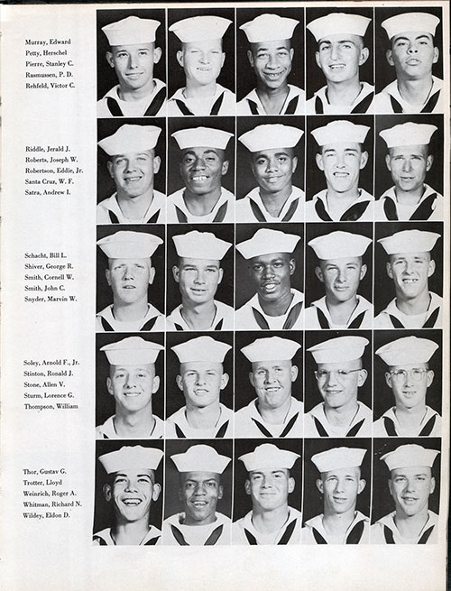 Recruits, Page 3, Navy Boot Camp Yearbook 1955 Company 031
