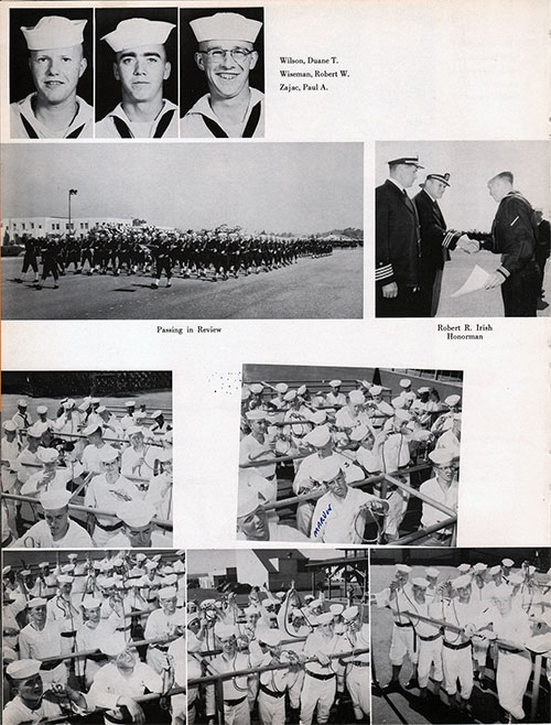 Recruits, Page 4, Navy Boot Camp Yearbook 1955 Company 031
