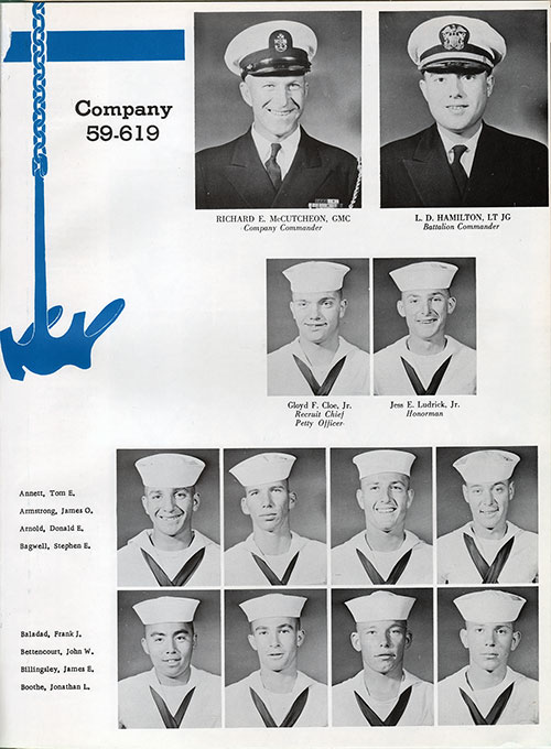 Company 59-619 Recruits, Page 1