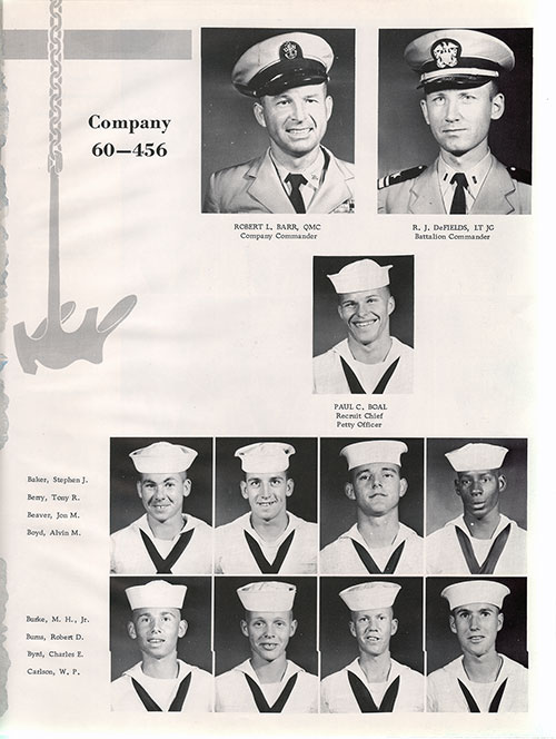 Company 60-456 Recruits, Page 1