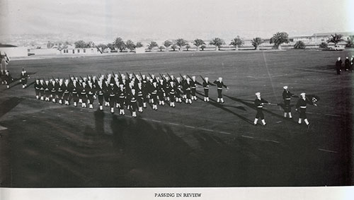 Company 60-456 Recruits Passing in Parade