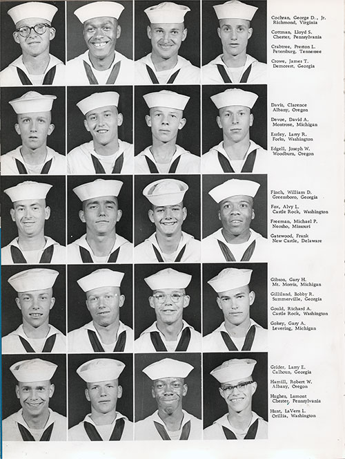 Company 62-004 San Diego NTC Recruits, Page 2.