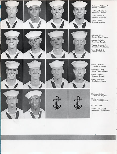 Company 62-004 San Diego NTC Recruits, Page 4.