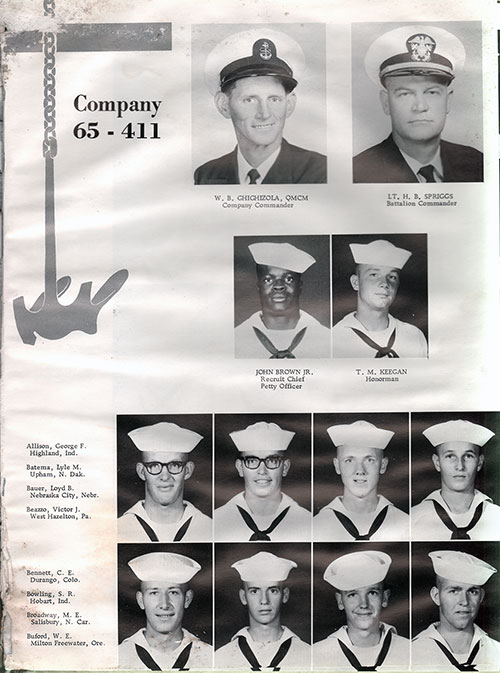 Company 65-411 Recruits, Page 1