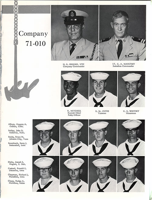 Company 71-010 Recruits, Page 1