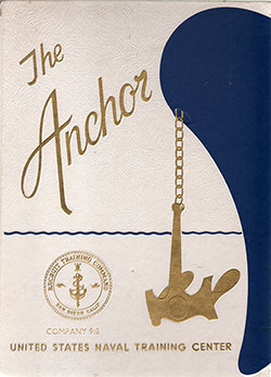 Navy Boot Camp Book 1975 Company 918 The Anchor