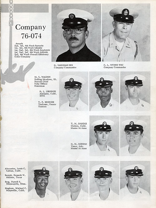 Company 76-074 Recruits, Page 1