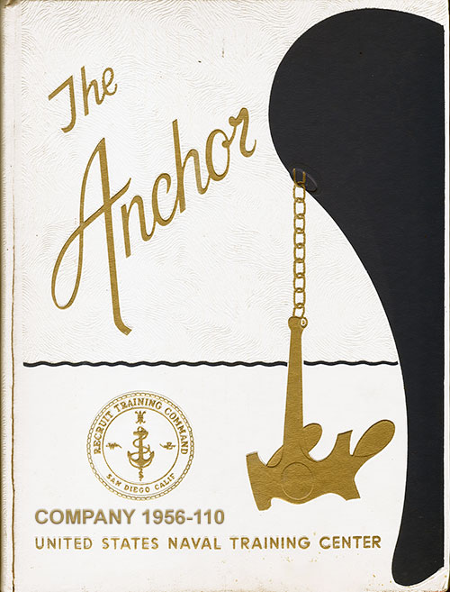 Front Cover, Navy Boot Camp Book 1978 Company 031 The Anchor