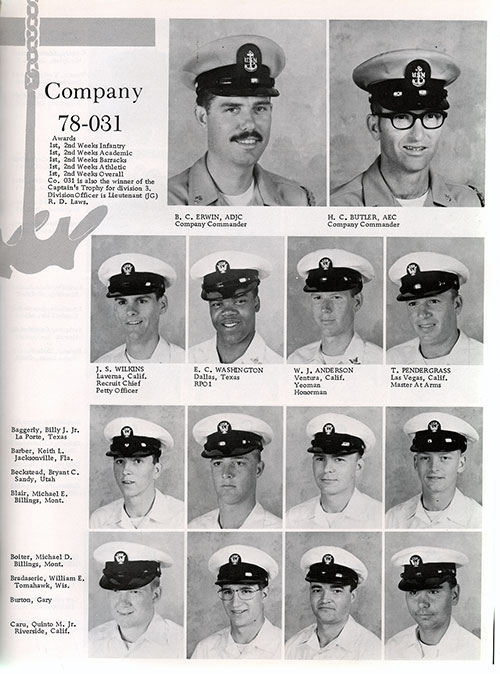 Company 78-031 Recruits, Page 1