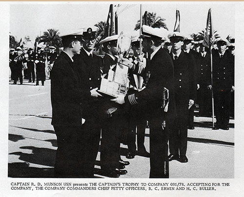 Company 78-031 Receives The Captain's Trophy