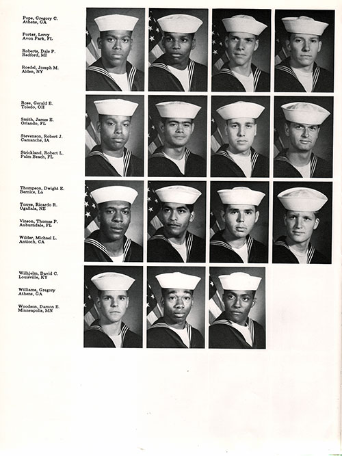 Navy Boot Camp 1987 Company 026 The Anchor Gg Archives