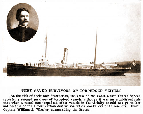 They Saved Survivors of Torpedoed Vessels.
