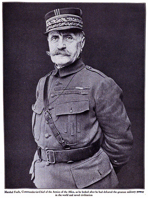 Marshal Foch, Commander-in-Chief of the Armies of the Allies