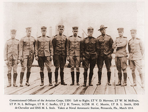 Commissioned Officers of the Aviation Corps, USN
