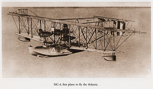 NC-4, First Plane to Fly the Atlantic.