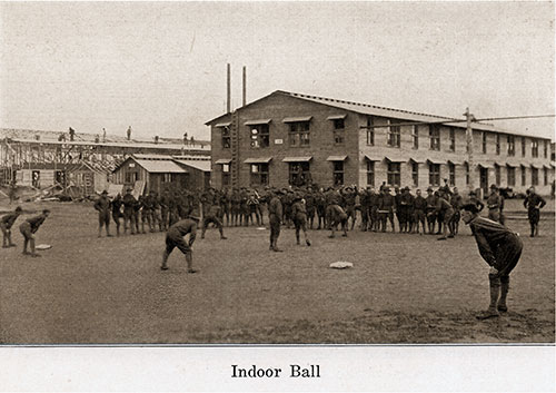 Baseball Played among the Soldiers Is Always an Enjoyable Recreation.