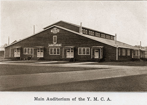 Main Auditorium of the YMCA.