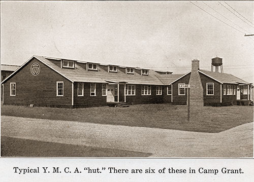 Typical YMCA Hut. There Are Six of These in Camp Grant.