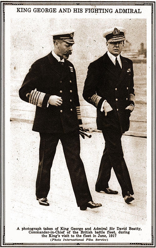 King George and His Fighting Admiral