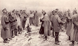 The Christmas Day Truce of 1914.