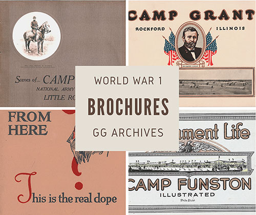World War 1 Brochure Collection