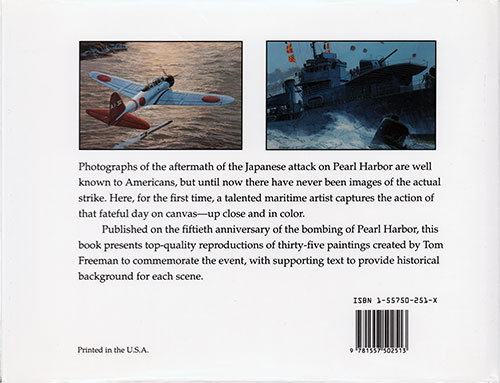 Back Cover, Pearl Harbor Recalled: New Images of the Day of Infamy © 1991