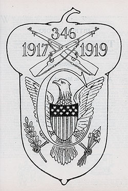 Emblem of Company C, 346th Infantry, 87th Division, AEF - 1919.