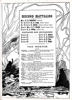 Title Page, Second Battalion, 346th Infantry, 87th Division of the AEF.
