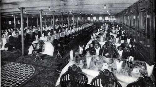 First Cabin Dining Saloon