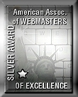 American Association of Webmasters Silver Award