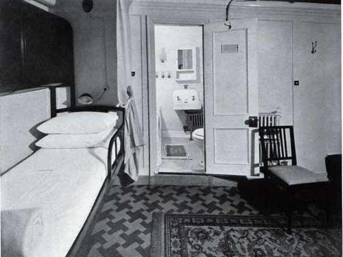 Typical Stateroom with Bath