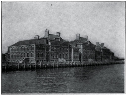 The Immigrant Hospital at Ellis Island