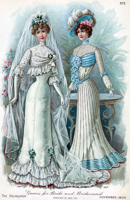 Gowns for Bride and Bridesmaid