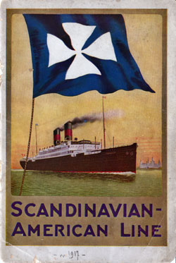 1917 Brochure from the Scandinavian American Line