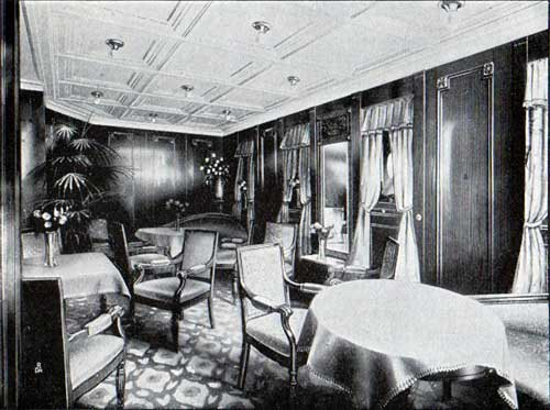 First Cabin Ladies' Room, S.S. Frederik VIII