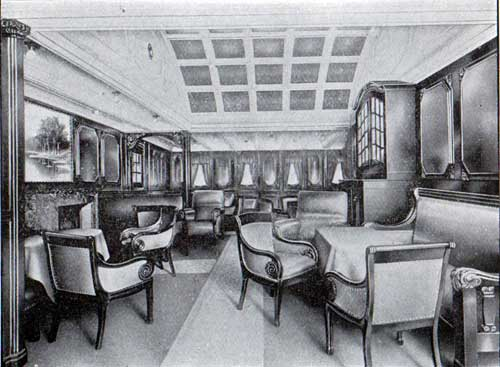 First Cabin Smoking Room, S.S. Frederik VIII