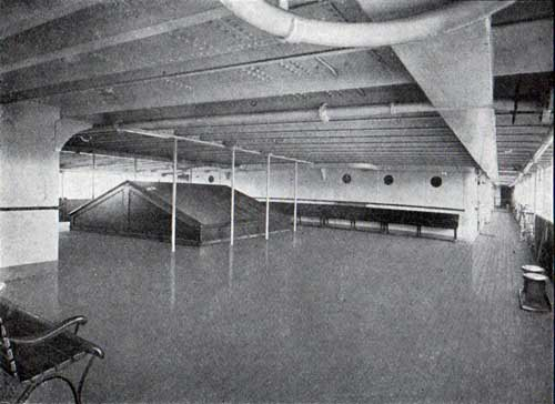 Enclosed Promenade Deck, S.S. Frederik VIII