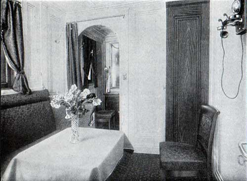Private Suite Sitting Room, S.S. Frederik VIII