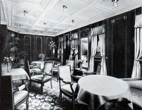 Ladies Room, First Cabin