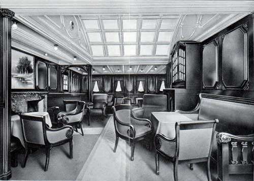 Smoking Room, First Cabin
