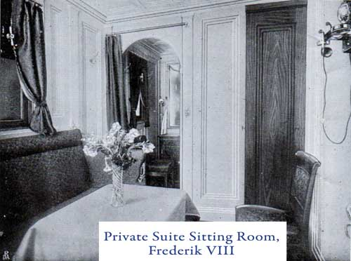Private Suite Sitting Room, Frederik VIII