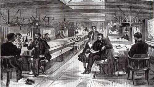 The Main Saloon