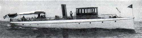 The Vamoose, One of the Fastest Boats on the Hudson