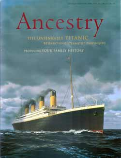 Ancestry 1998 - The Unsinkable Titanic
