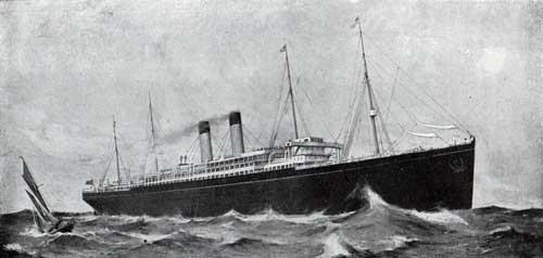 Cedric and Celtic Steamships - White Star Line