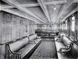 R.M.S. Republic First Class Lounge